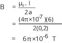 Jawaban soal fisika tentang medan magnetik nomor 2
