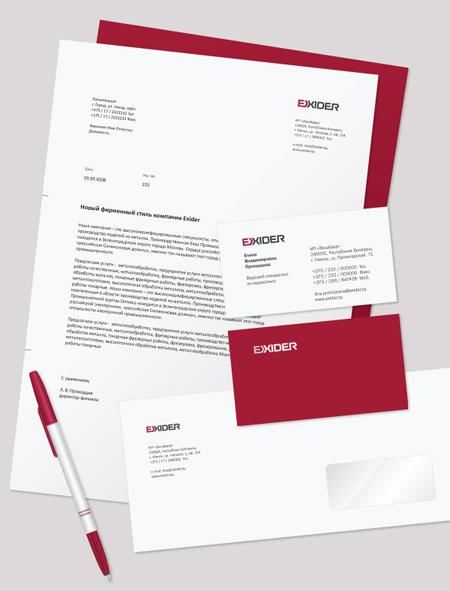 Thiết kế in ấn tiêu đề thư đẹp giá rẻ tại Hà Nội Exider