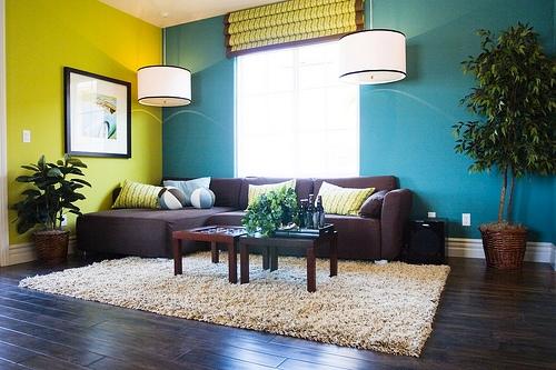 pareti con più colori