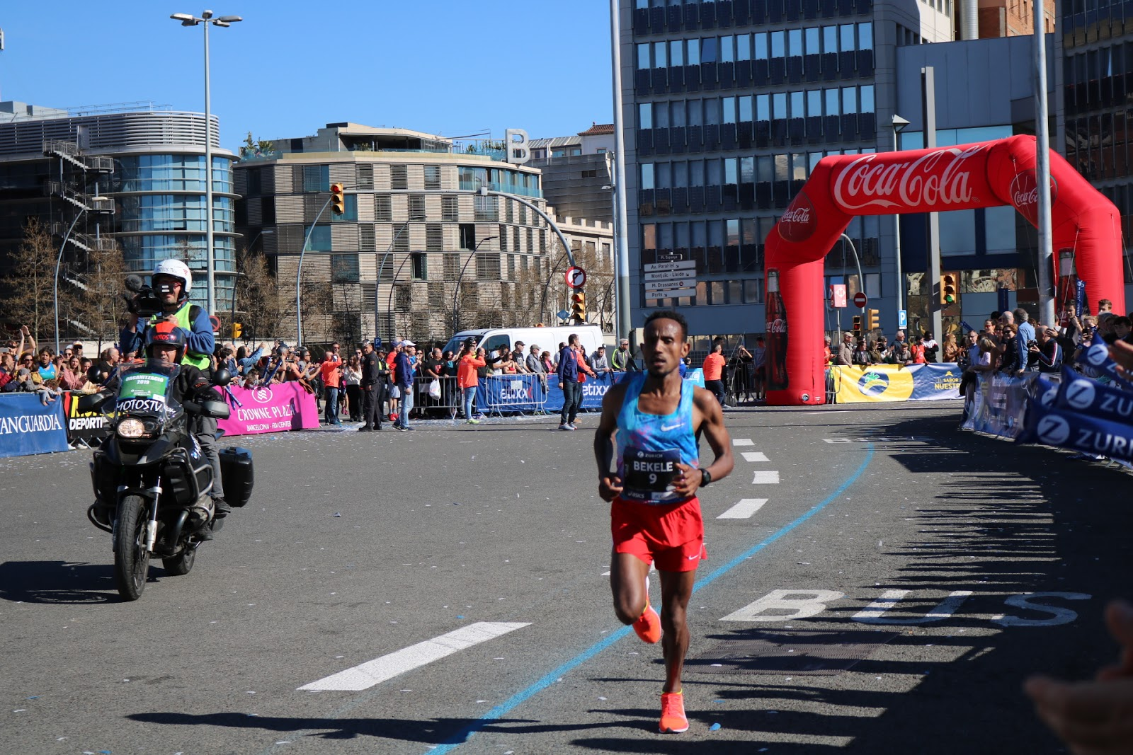 Dos Récords en la Zúrich Marató de Barcelona 2019