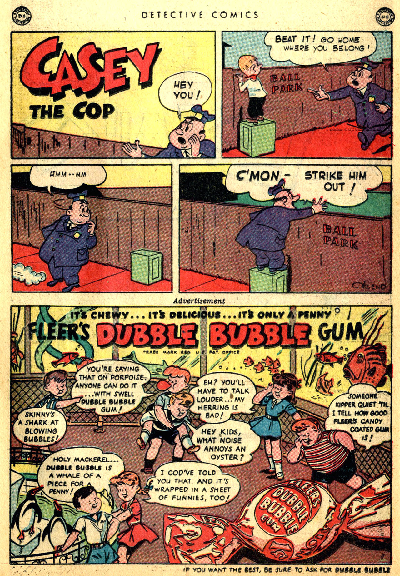 Read online Detective Comics (1937) comic -  Issue #117 - 31