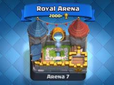 Susunan Battle Deck Terbaik Pada Arena 7 Clash Royale