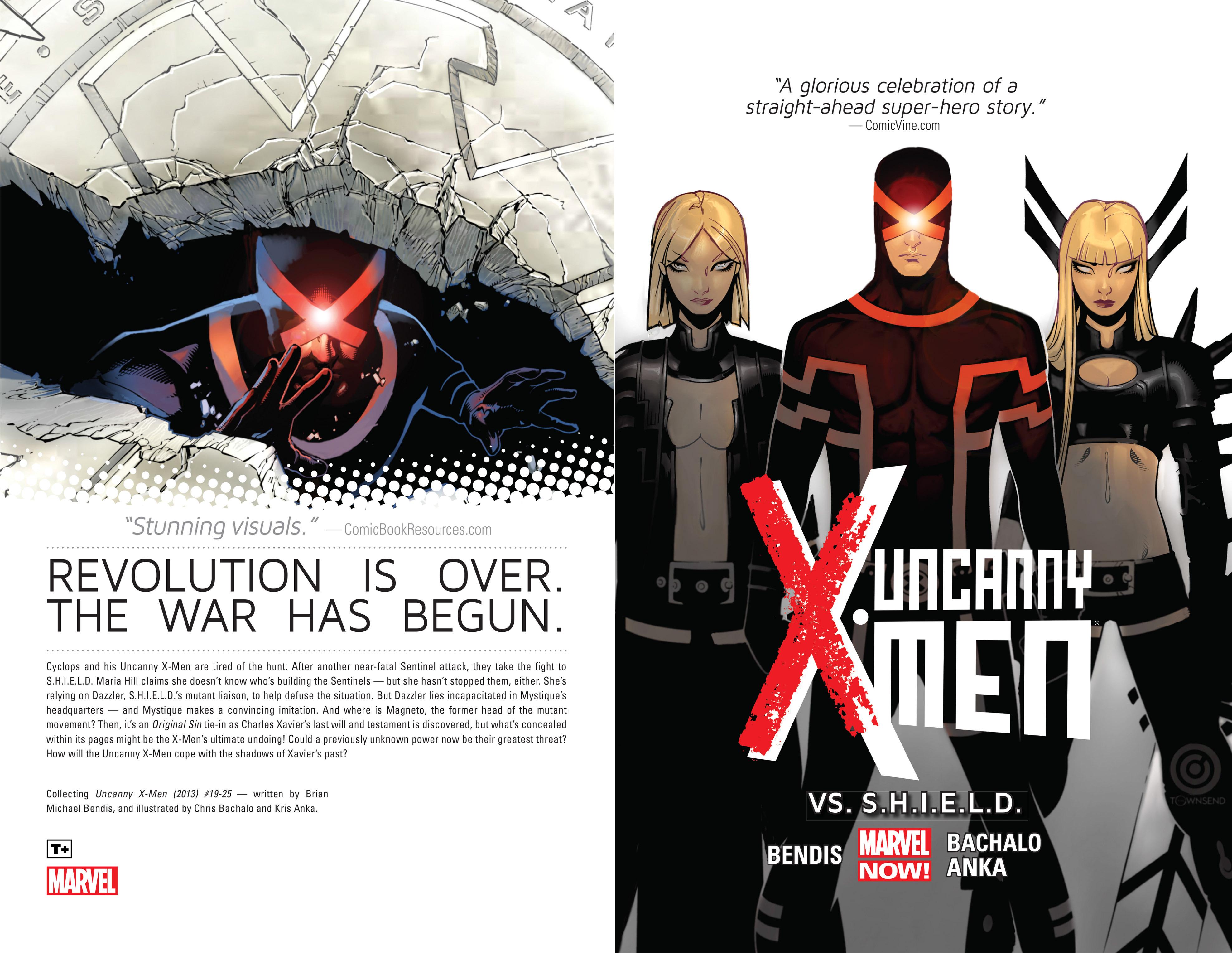 Read online Uncanny X-Men (2013) comic -  Issue # _TPB 4 - vs. S.H.I.E.L.D - 2