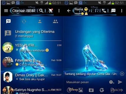 BBM Mod Cinderella