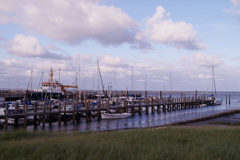 Amrum Hafen Segelschiffe Wittdün