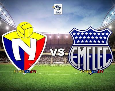 El Nacional vs Emelec - Sábado 09 de Diciembre del 2017 - Partido Jornada 22