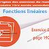 Exercice 02 page 192 - Fonctions linéaires