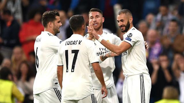 مقابلةبين ريال مدريد وفالنسيا ضمن الدوري الاسباني