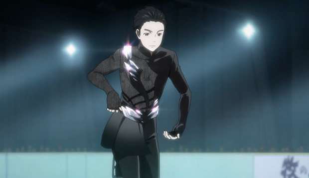 The Show Has A Lot Of Figure Skating Costumes Naturally But The Most Distinctive Is Undeniably The Eros Costume Its Supposedly Inspired By Bondage And