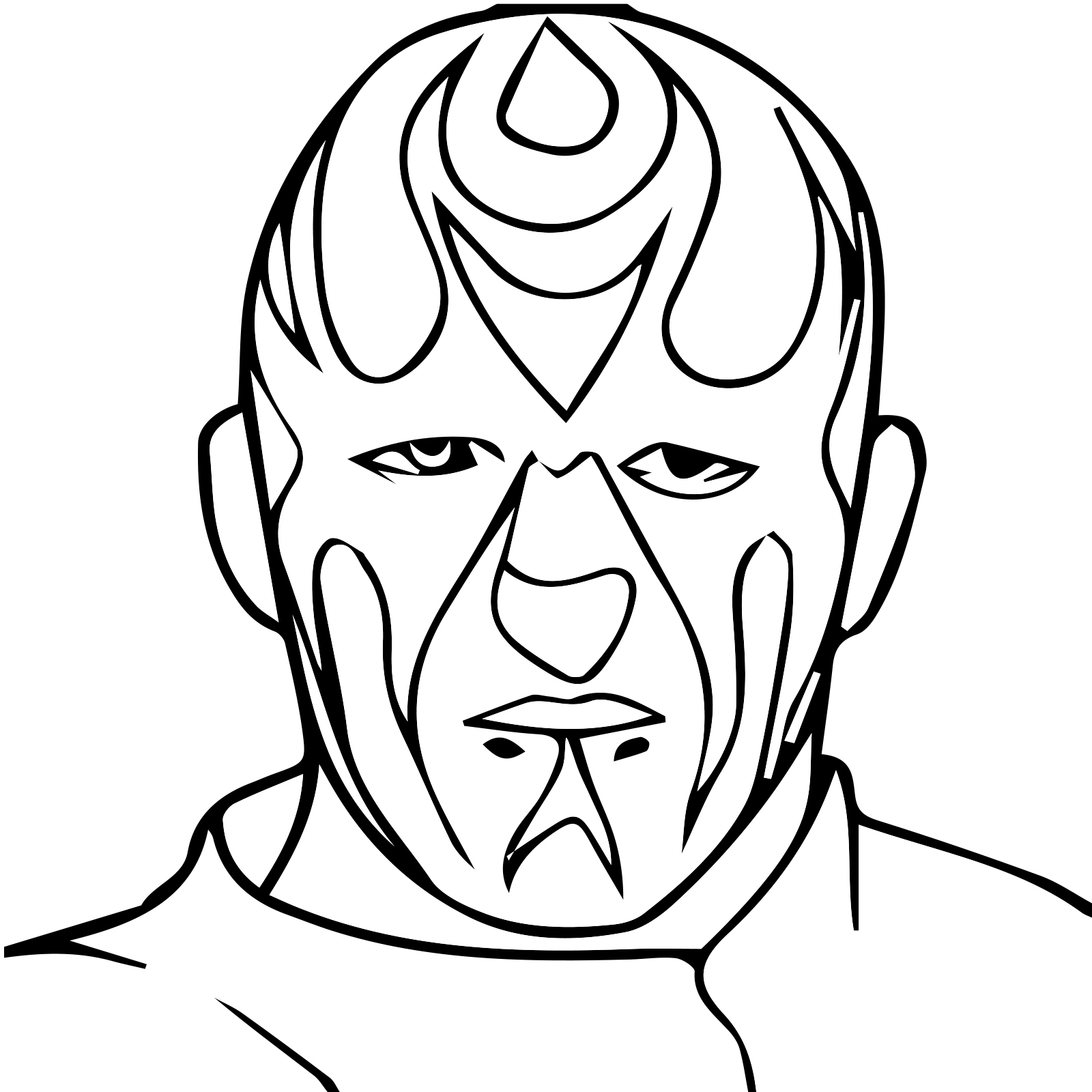 free videos for kids: Wwe Roman Reigns Coloring Pages