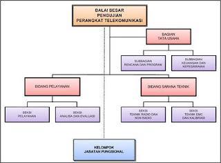 Struktur Organisasi BBPPT