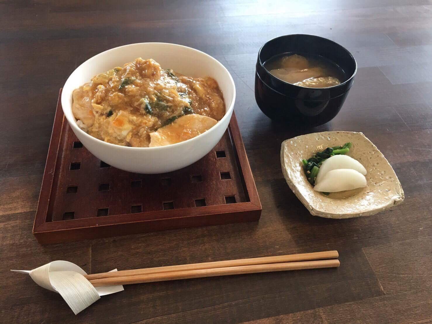 キチキチブログ: 今日は、親子丼...