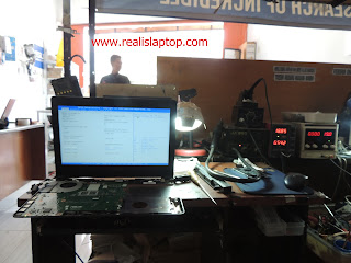 Service Laptop Asus X452C Touchpad Panas