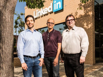 Microsoft Buys LinkedIn for $26.2 Billion