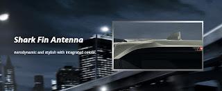 gambar model antena toyota fortuner 2016