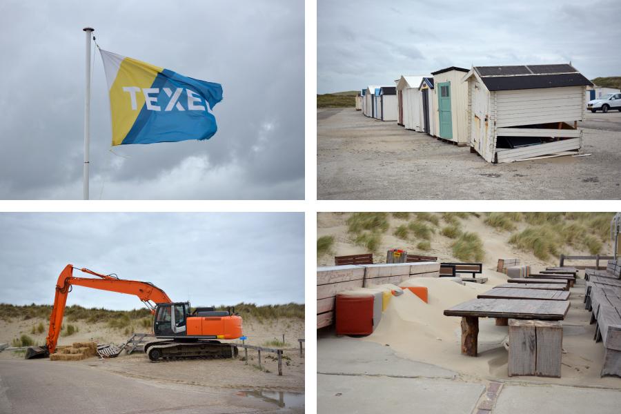 Niederlande Texel paal 9