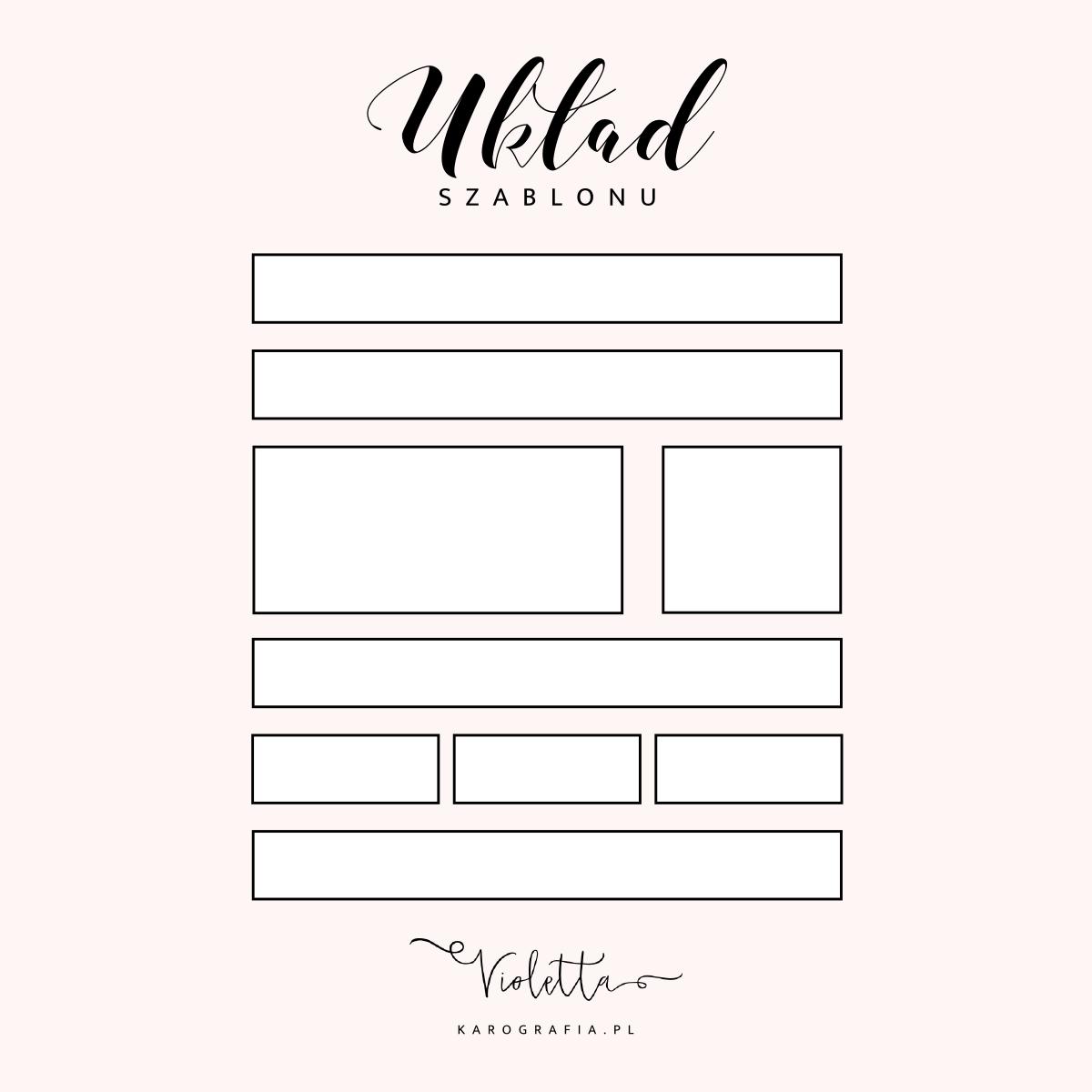 Szablon na blogspota do kupienia - (prawie) klasyczna Violetta!