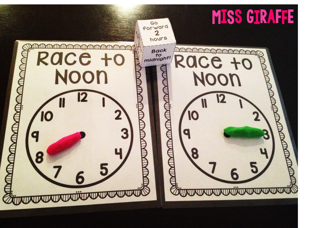 Miss Giraffe S Class Telling Time In First Grade
