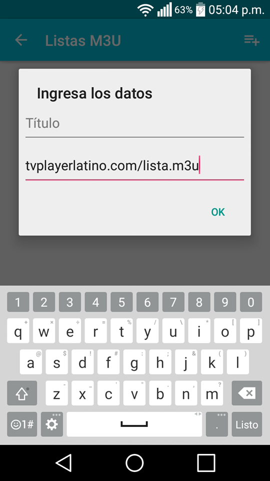 you iptv player latino