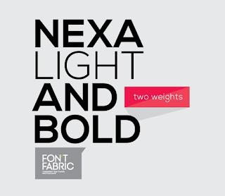 Nexa Free Font Font Terbaik Untuk Desain Pakaian Distro