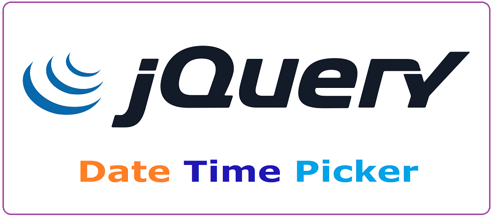 Coder 007: Jquery Date Time Picker