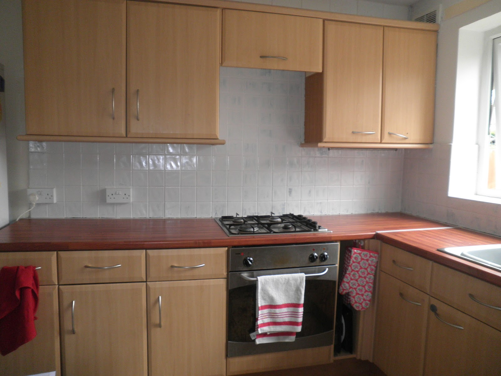 The Chimney Pot Before and After  Kitchen Tiles