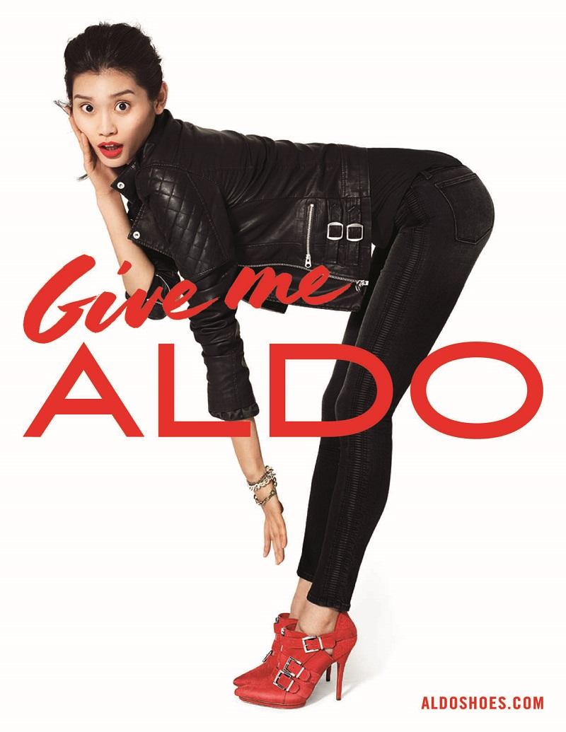 ac0e2f5d94b AD CAMPAIGN  Ming Xi for Aldo