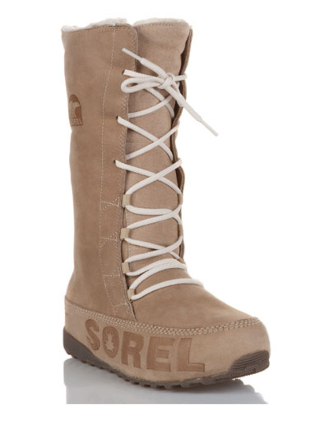 My Superficial Endeavors Sorel Shila Suede Boot