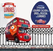 Promoção Páscoa em Londres PBKids