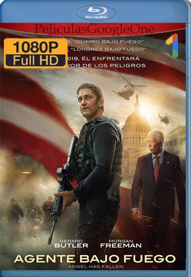 Agente bajo fuego (2019)  1080p Latino