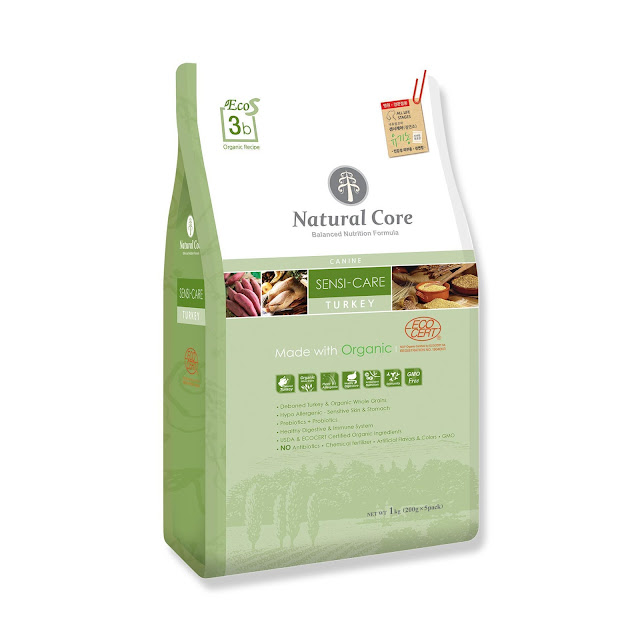 Natural Core Sensi Care vị gà tây