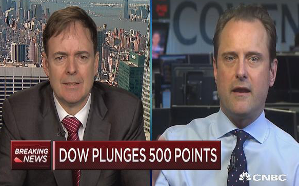 Dow plummets 666 points, capping worst week in 2 years