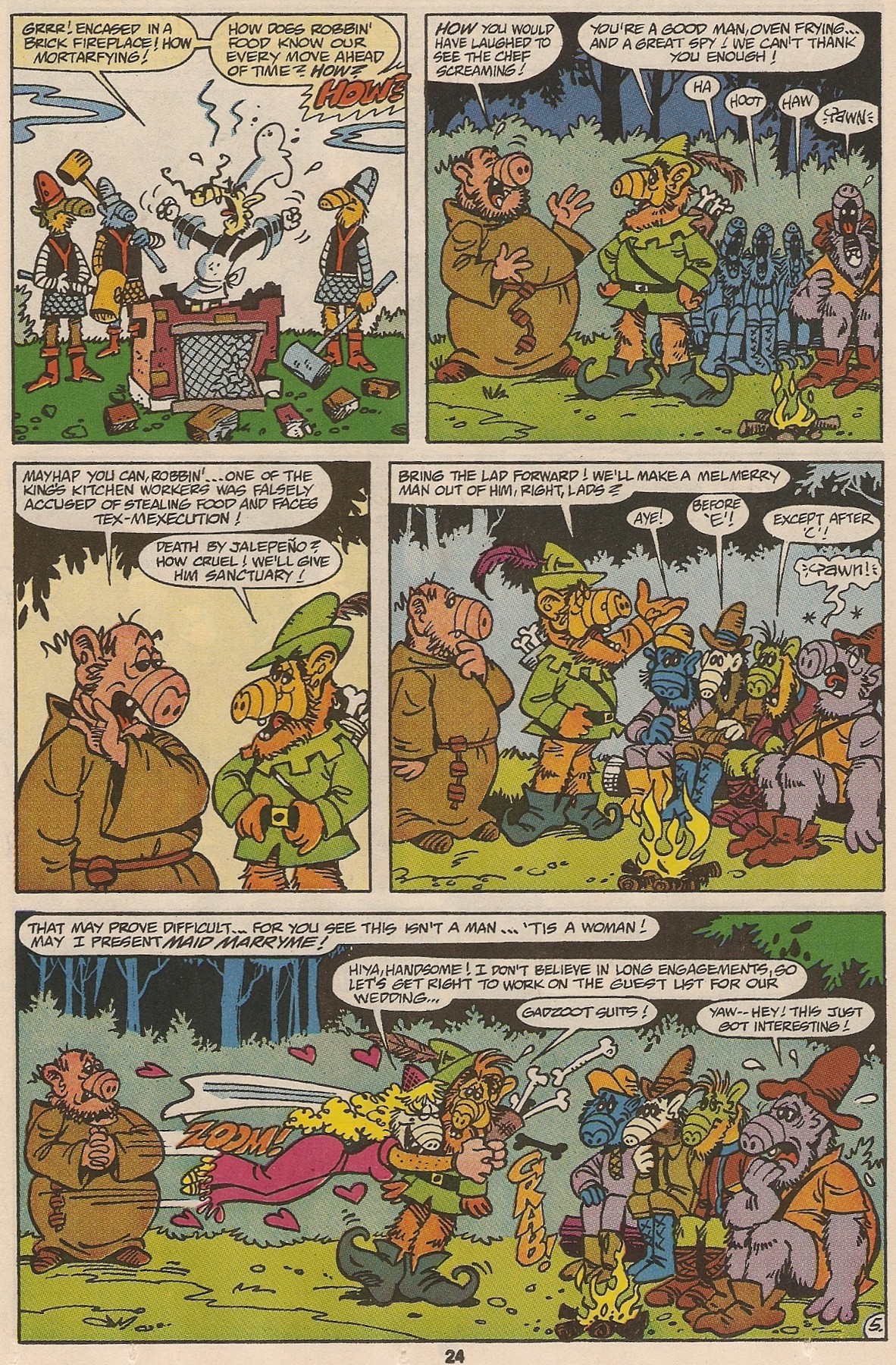 Read online ALF comic -  Issue #47 - 25