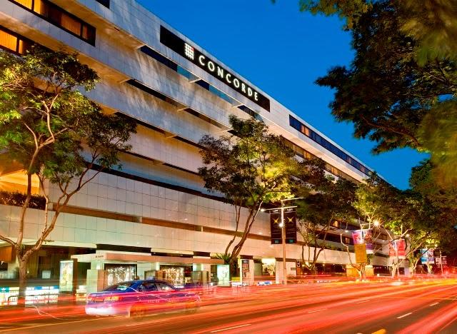singapore concorde hotel facade