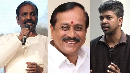 Madhan Karky's statement for Vairamuthu 'Aandal' Issue | H Raja