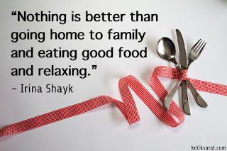 quotes bahasa inggris about food dan artinya