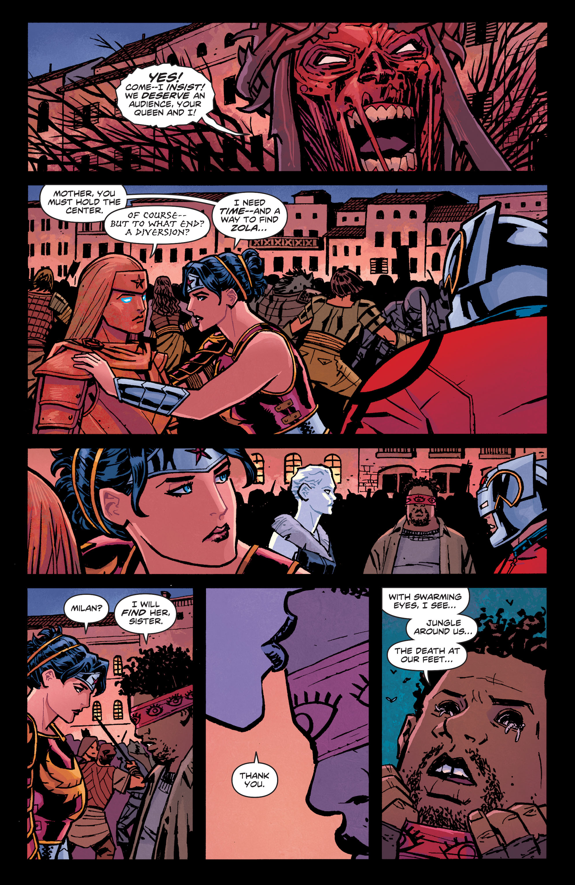 Read online Wonder Woman (2011) comic -  Issue #34 - 15