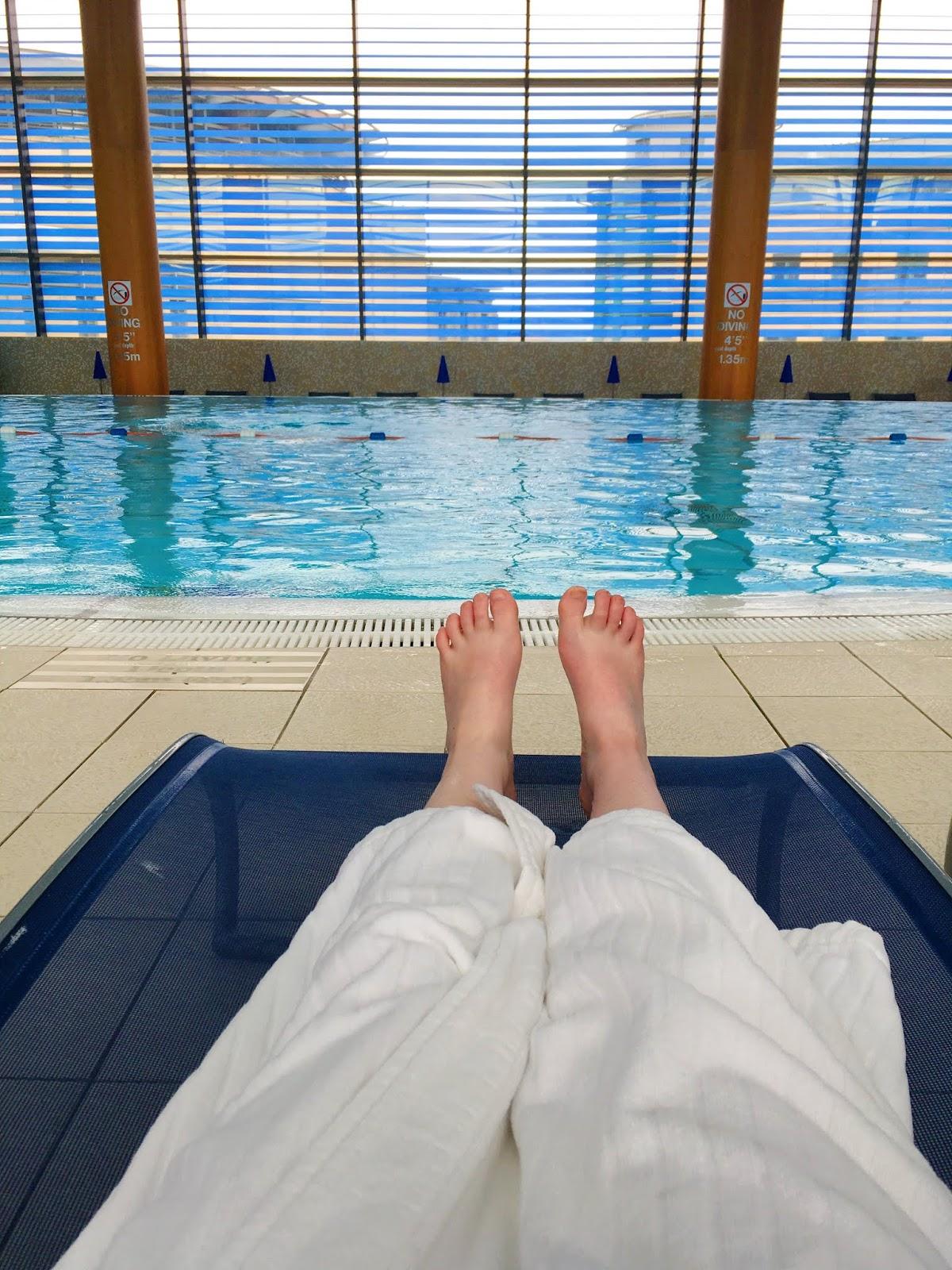 sheraton edinburgh swimming pool