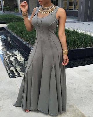 vestido gris invitada boda