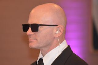 man on earphone