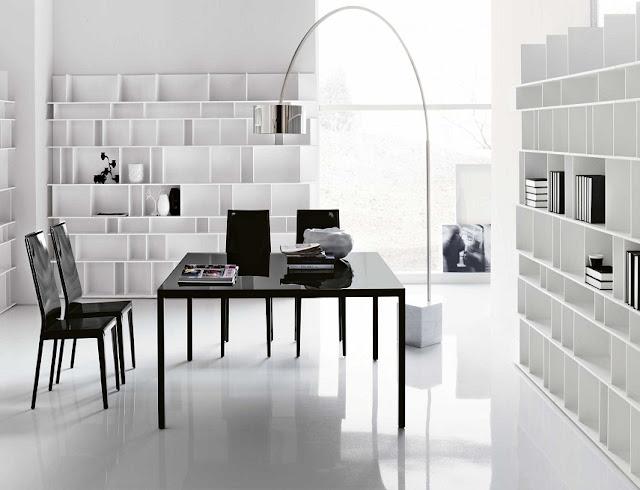 best buy white black modern office furniture Denver CO for sale