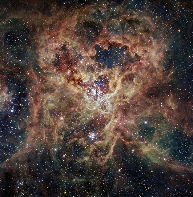 Опублікували неймовірне відео космічної туманності
