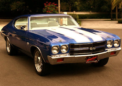 1970 Chevrolet Chevelle Malibu SS Muscle Car Coupe Front Right