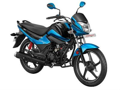 New 2016 Hero Splendor iSmart 110 side view image 02