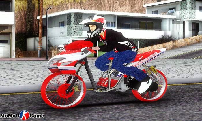 Bikes Vario Drag JKT48 Mod GTA SA
