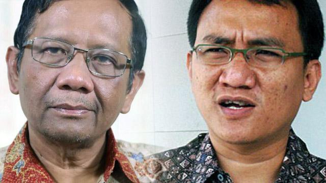 Andi Arief: Jangan Terlalu Percaya Mahfud MD, Dia Penikmat bukan Pejuang Demokrasi