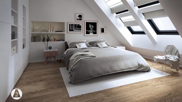 Koleksi Desain Loteng Untuk Kamar Tidur