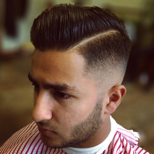 old skool hairstyle