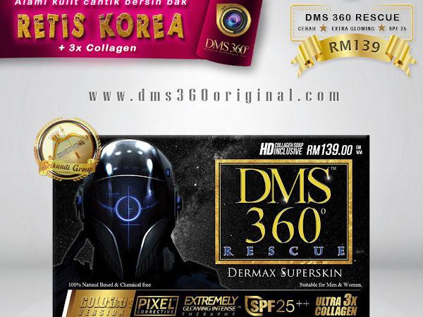 Cara Guna Produk DMS360 Set asas DMS360 dan Set Lengkap DMS360