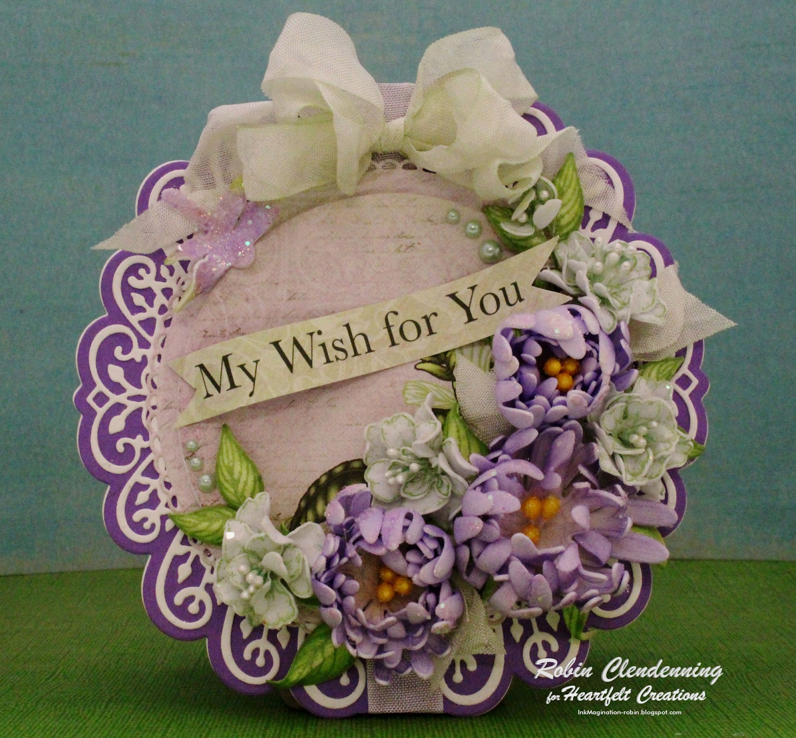 Inkmagination Heartfelt Foam Paper Flowers Debut